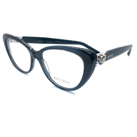 0f7228f72d74 Jimmy Choo JC 120 W54 Eyeglasses New Authentic